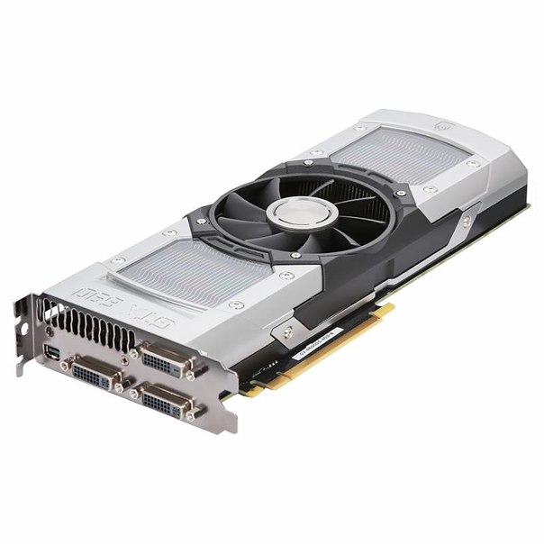 Видеокарта gigabyte gv-n690d5-4gd-b, gtx690, 4096мб, gddr5, retail