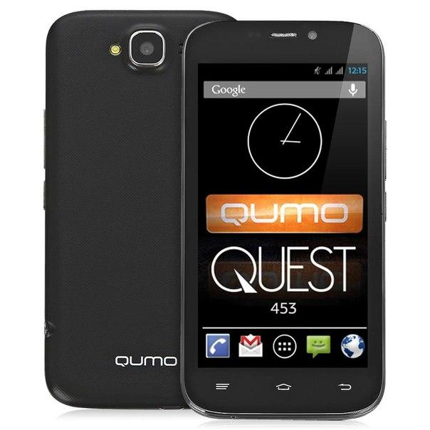 Смартфон qumo quest 453 black
