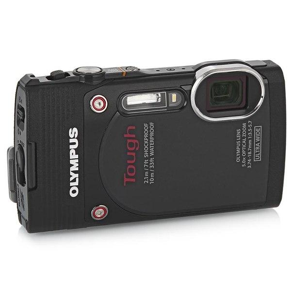 Цифровой фотоаппарат olympus tough tg-850 ihs black
