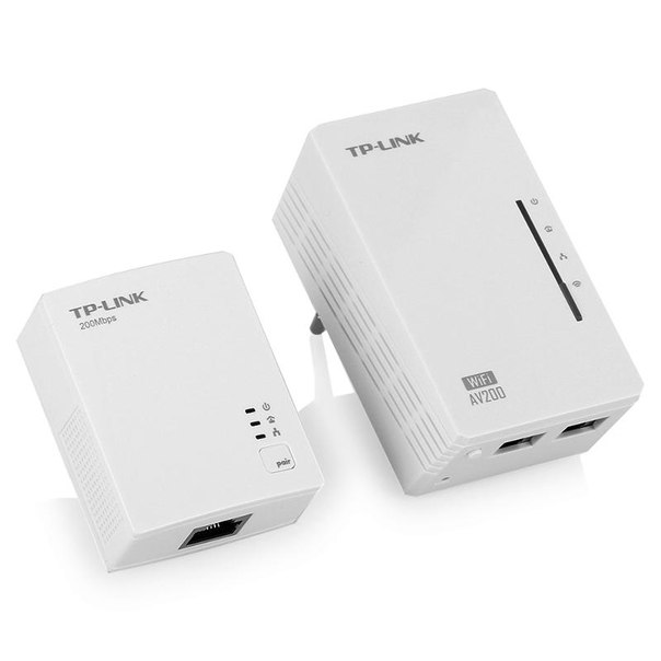 Сетевой адаптер powerline tp-link tl-wpa2220kit