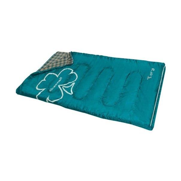 Спальный мешок greenell tory левый, зеленый