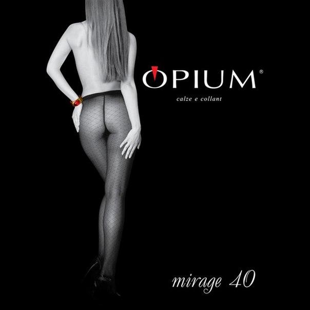 Колготки opium mirage, 40 den, nero, 2