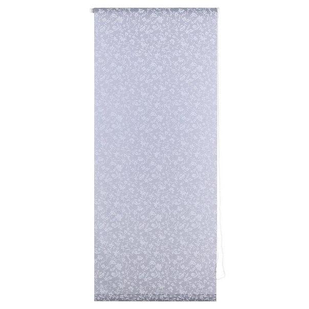 Штора рулонная уют лето 7707, 50х170 см, цвет серый