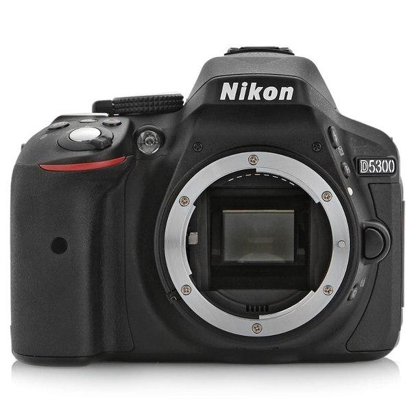 Зеркальный фотоаппарат nikon d5300 body black