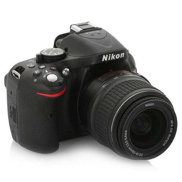 Зеркальный фотоаппарат nikon d5200 kit af-s dx 18-55mm ii black