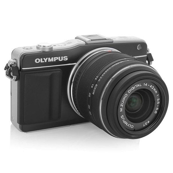 Цифровой фотоаппарат olympus pen e-pm2 kit 14-42mm black (bcl1580) black
