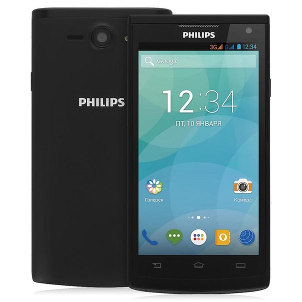 Смартфон philips s388 black