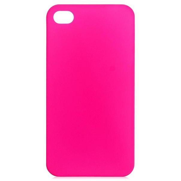Чехол крышка zakka для iphone 4/4s, розовый