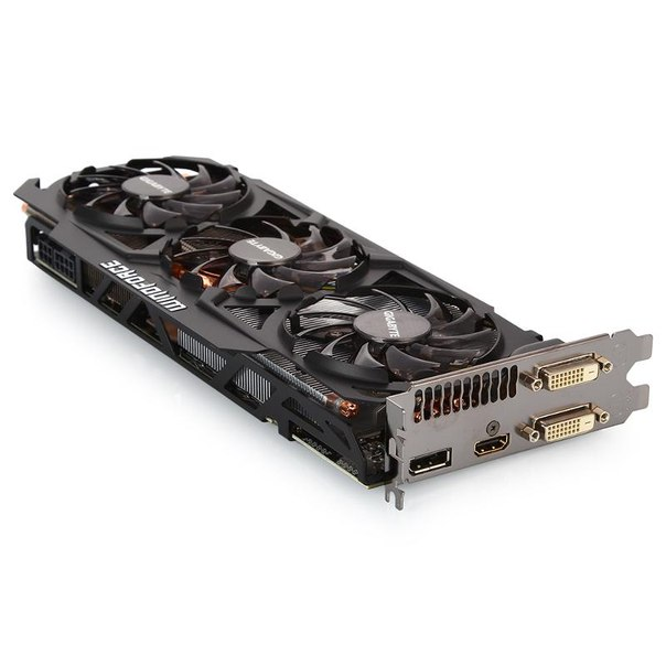 Видеокарта gigabyte gv-r929xoc-4gd, r9 290x, 4096мб, gddr5, retail
