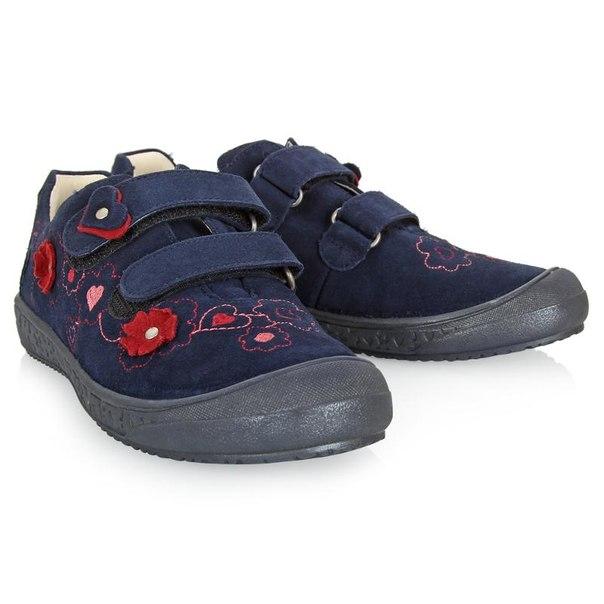 Ботинки для девочек richter 41314257201, размер 32, цвет синий
