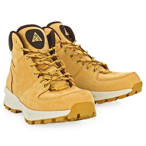 Ботинки nike nike manoa leather 454350-700