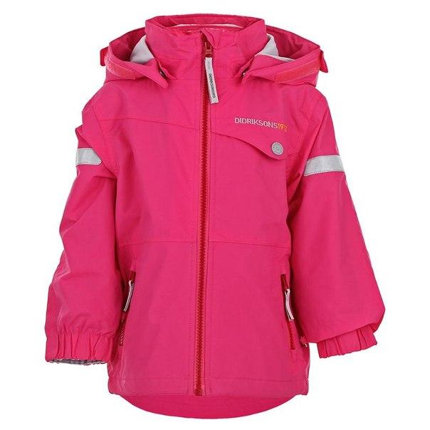 Куртка didriksons1913 teiga kids jkt 500413, размер 100 см, цвет 304 фламинго