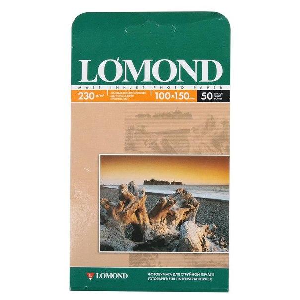 Фотобумага 10*15 lomond 0102034, 230 г/м2