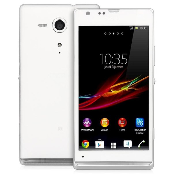 Смартфон sony c5303 xperia sp white