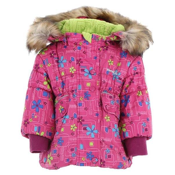 Куртка для девочек kamik kwg 6172, размер 98-100 см, цвет розовый