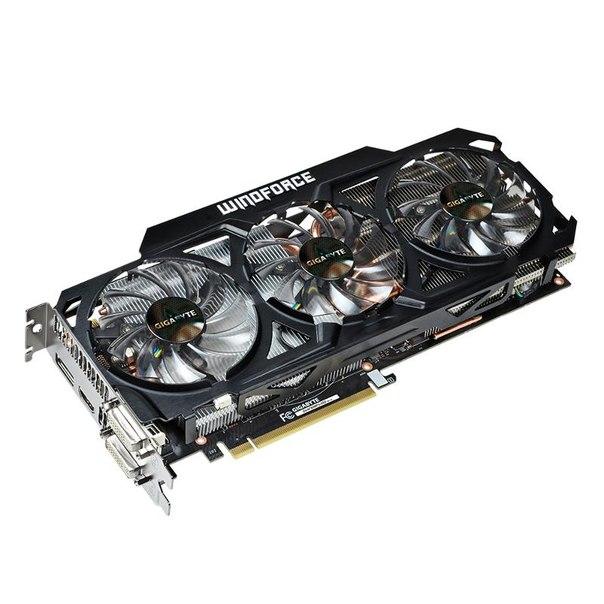 Видеокарта gigabyte gv-n780wf3-3gd, gtx780, 3072мб, gddr5, retail