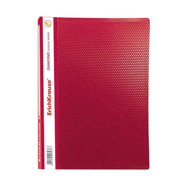 Папка файловая на 30 файлов erich krause, красная (3 шт)