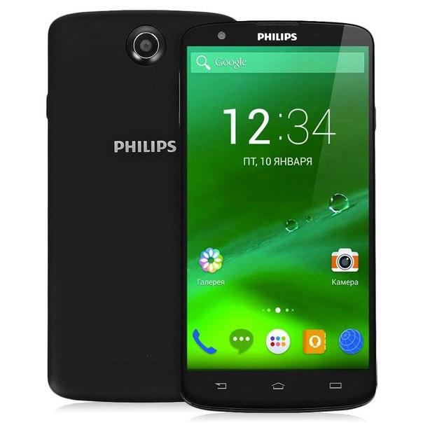 Смартфон philips i928 black