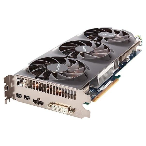 Видеокарта gigabyte gv-r797to-3gd, hd 7970 ghz edition, 3072мб, gddr5, retail