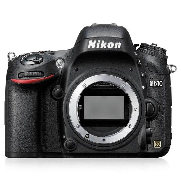 Зеркальный фотоаппарат nikon d610 body black