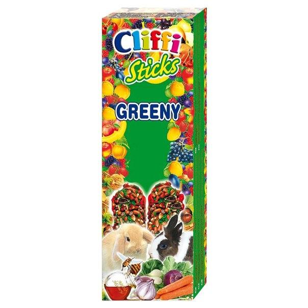 Лакомство для кроликов cliffi, палочки с овощами и медом