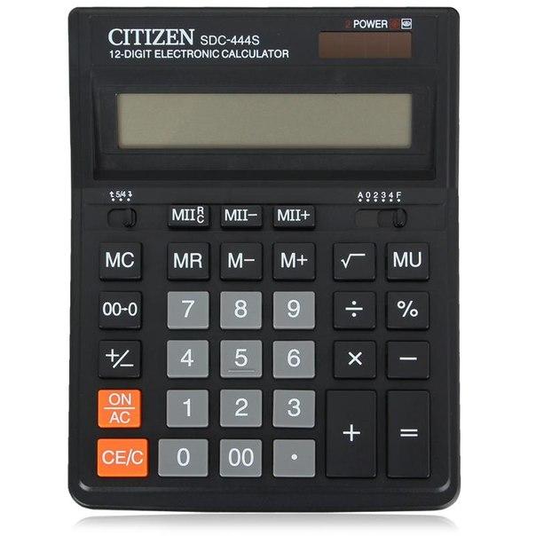 Калькулятор citizen sdc 444 s