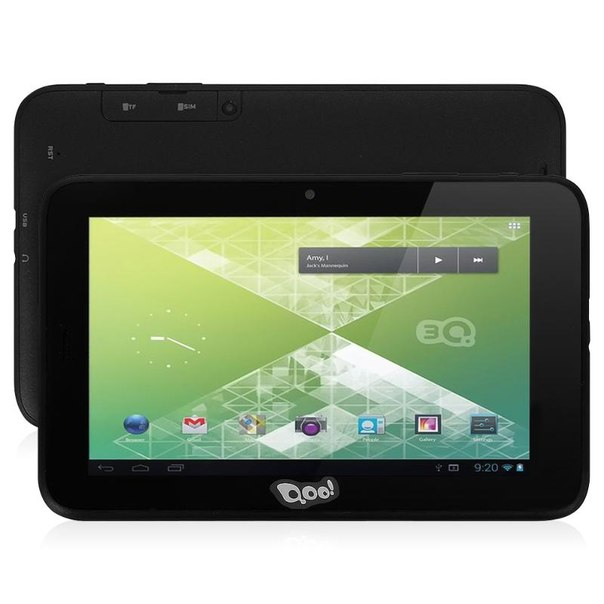 Планшет 3q qoo! qpad tablet pc mt0729b 14a4+3gr 4gb black