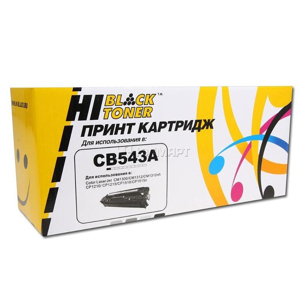 Картридж hi-black cb543a