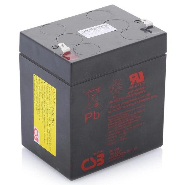 Батарея аккумуляторная csb gp 1245