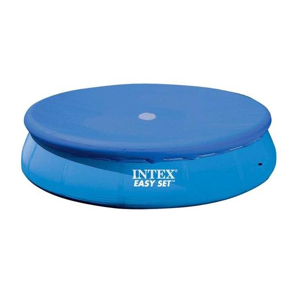 Тент на бассейн intex easy set 28023, 457х30см