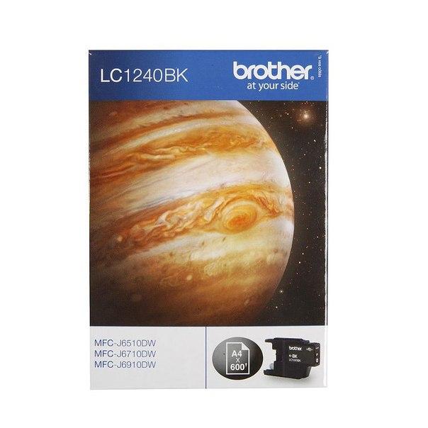Картридж brother lc-1240bk, черный