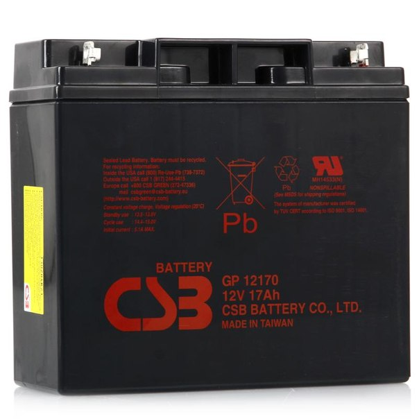 Батарея аккумуляторная csb gp 12170 f2