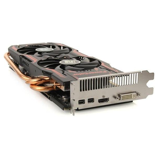 Видеокарта power color axr9 280x 3gbd5-t2dhe/oc, r9 280x, 3072мб, gddr5, retail