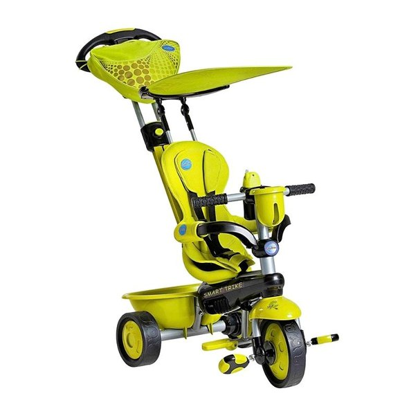 Велосипед трехколесный smart trike 1573800 zoo-collection зеленый