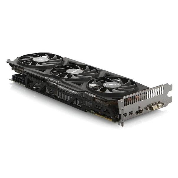 Видеокарта gigabyte gv-r928wf3oc-3gd, r9 280, 3072мб, gddr5, retail