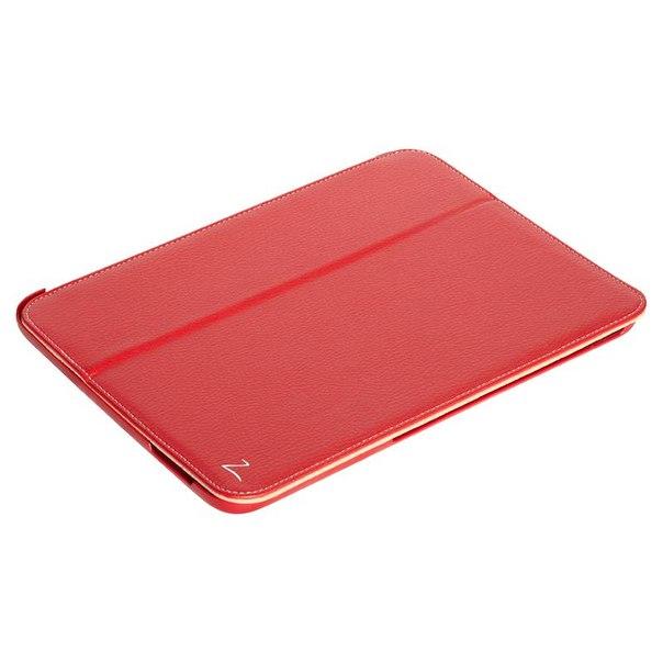 Чехол книжка lazarr islim case для samsung galaxy tab 3 10.1, эко кожа, красный