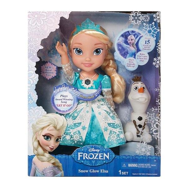 Кукла принцессы дисней эльза (холодное сердце) функциональная