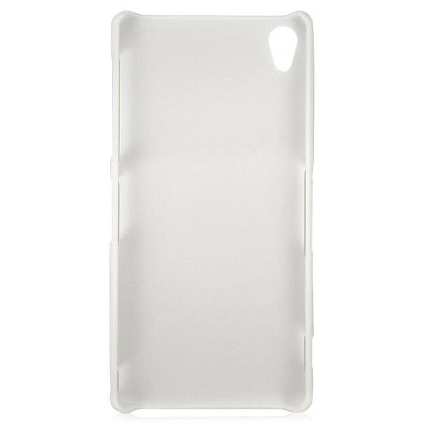 Чехол-крышка nillkin super frosted shield для sony xperia z3, белый