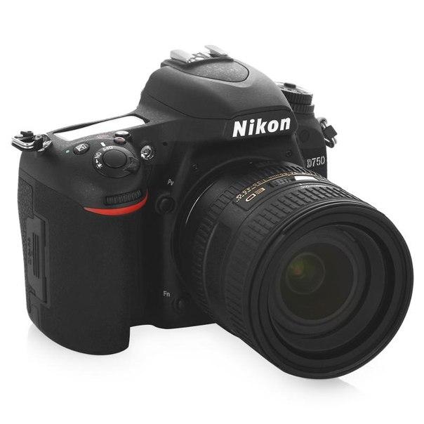 Зеркальный фотоаппарат nikon d750 + af-s 24-85mm, black