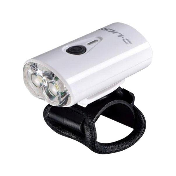 Передний габаритный фонарь d-light, usb, белый