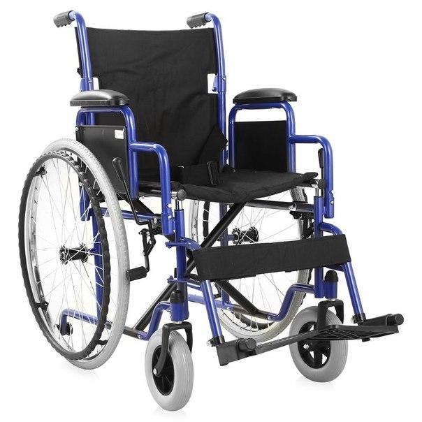 Кресло-коляска для инвалидов армед h 035 (17 дюймов) s, литые быстросъемные колеса