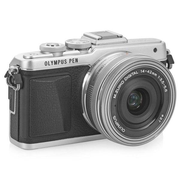Цифровой фотоаппарат olympus pen e-pl7 kit 14-42mm ez silver