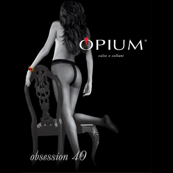 Колготки opium obsession, 40 den, nero, 2