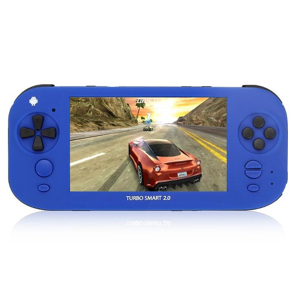 Игровая приставка turbo smart 2.0 blue, синяя