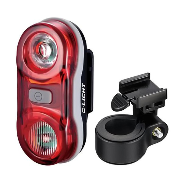 Задний габаритный фонарь d-light, 2x0.5вт, черный