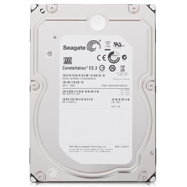 Жесткий диск hdd 4тб, seagate constellation es.3, st4000nm0033