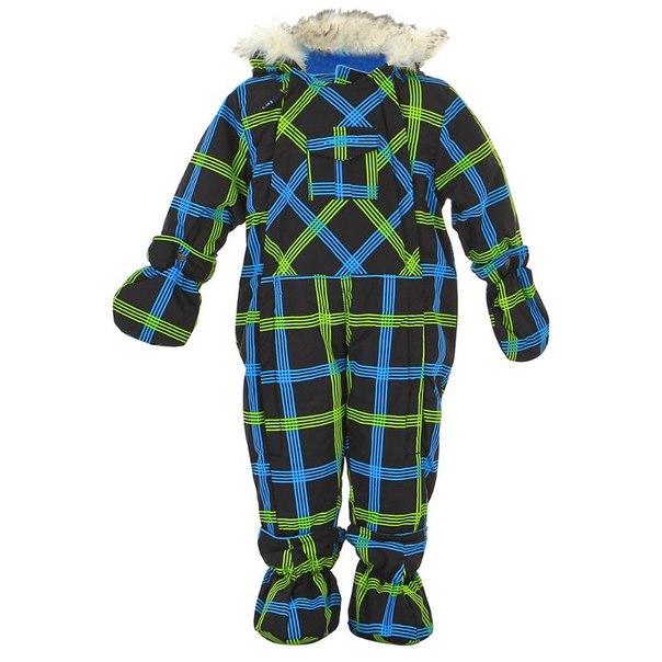 Комбинезон для мальчиков gusti gwb 2543, размер 74-80 см, цвет синий, зеленый