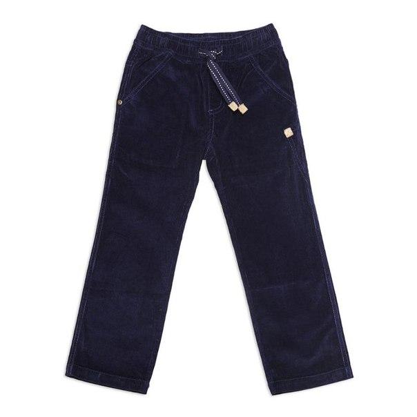 Брюки для мальчиков playtoday 341117, размер 116-122 см, цвет синий