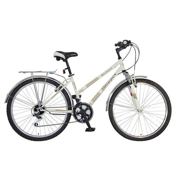 Велосипед stinger victoria, белый (х43963-к)