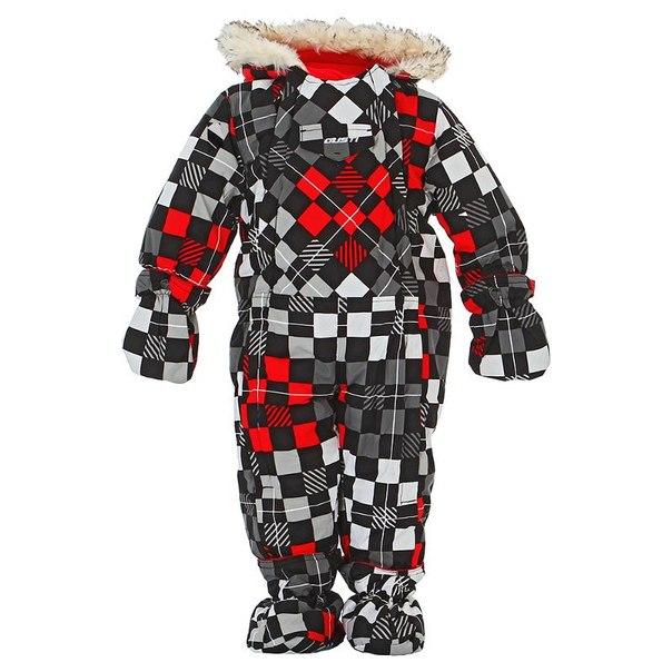 Комбинезон для мальчиков gusti gwb 2544, размер 74-80 см, цвет красный, черный